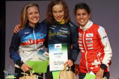 Podium Knockout Women, EGK Orienteering World Cup 2019 Laufen