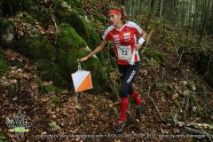 Paula Gross (SUI, 13.), EGK Orienteering World Cup 2019 Laufen