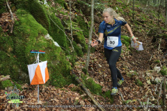 Sara Hagstrom (SWE 10.), EGK Orienteering World Cup 2019 Laufen