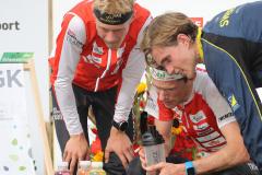Podium Middle Men, EGK Orienteering World Cup 2019 Laufen