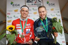 Matthias Kyburz (SUI) & Tove Alexandersson (SWE)
