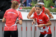Julia Gross (SUI 3) - Mixed Sprint Relay