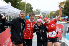 Team Switzerland 2 in the Mixed Sprint Relay