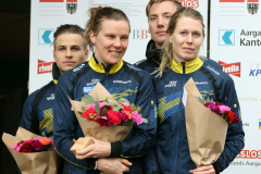 Team Sweden 1 - 2nd in Mixed Sprint Relay