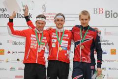 Daniel Hubmann, Matthias Kyburz & Olav Lundanes