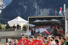 Team Switzerland - Team Presentation Mixed Sprint Relay