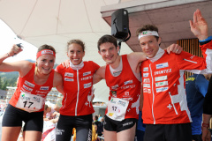 Team Switzerland 2 third in the Mixed Sprint Relay