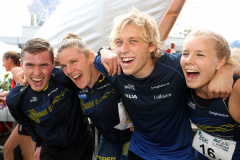 Team Sweden 2 first in the Mixed Sprint Relay