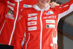 Fabian Hertner & Sarina Jenzer (SUI 2) - Mixed Sprint Relay